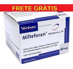 Milteforan 60 ml Virbac Leishmaniose Cães