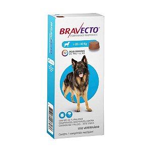 Antipulgas e Carrapatos Bravecto MSD para Cães De 20 A 40Kg