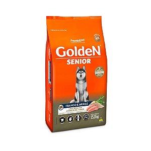Ração Golden Fórmula Senior para Cães Adultos Sabor Frango e Arroz - 15kg