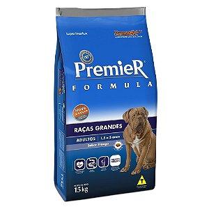 Ração Premier Fórmula para Cães Adultos de Raças Grandes Sabor Frango