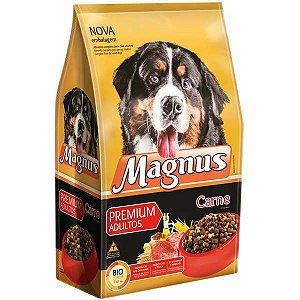 Ração Magnus Premium Carne para Cães Adultos 25kg