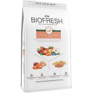 Ração Seca Biofresh Mix de Carne, Frutas, Legumes e Ervas Frescas Cães Adultos de Raças Pequenas e Minis