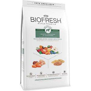 Ração Seca Biofresh Mix de Carne, Frutas, Legumes e Ervas Frescas Cães Adultos de Raças Grandes e Gigantes