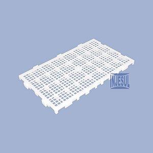 Estrado Plástico 30 X 50 X 2,5 Natural