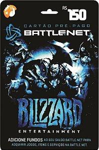 Cartão Blizzard Battle.Net R$ 150 Reais