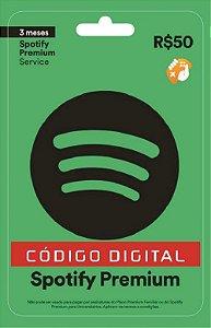 Spotify Premium - Cartão-Presente: 3 Meses