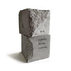 Objeto És tu a pedra do teu caminho