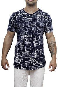 Camiseta Long Lutas