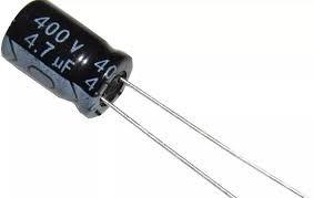 Capacitor Eletrolítico 4,7uf 400v