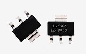 Transistor Mosfet 1NK60Z SMD