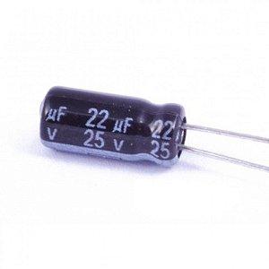 Capacitor Eletrolítico 22uf 25v