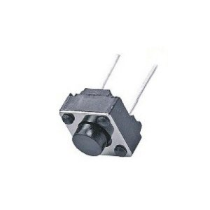 Chave Tactil  KFC A06- 6X6X4,3mm  - 2T - 180G