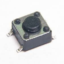 Chave Tactil  KFC - A06 - 6X6X4,3mm - 4T 180G SMD