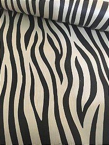 Papel de Parede Zebra Black