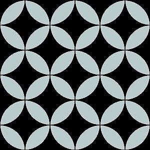 Papel de Parede Vinílico - EPP II - Geométrico - Preto e Prata