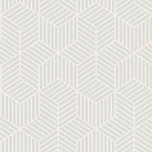 Papel de Parede Vinílico - EPP II - Geométrico - Bege