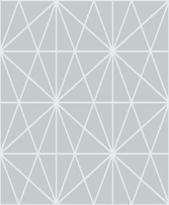 Papel de Parede Vinílico - EPP II - Geométrico - Cinza