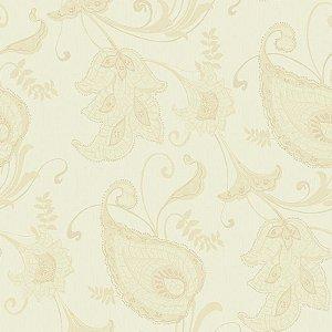 Papel de Parede Vinílico - EPP III - Floral - marfim