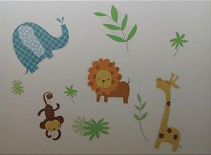 Adesivo Stickers Infantil Animais
