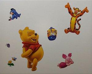 Adesivo Stickers Turma do Pooh