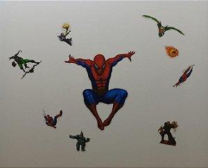 Adesivo Stickers Homem Aranha - Spider Man
