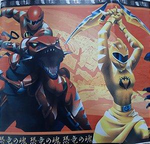 Faixa Adesivo De Parede Infantil Power Rangers