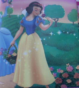 Faixa Adesivo De Parede Infantil Disney Princesas