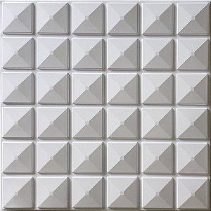 Placa 3D adesiva Inca - 50 cm x 50 cm - Autoadesiva 3M