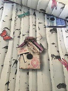 Papel de Parede Casa de Pássaros Jovem