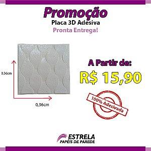 Placa Adesiva 3D 0,36CMX0,36CM