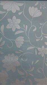 Papel de Parede Floral Verde A zulado