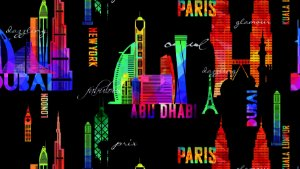 Papel de Parede Dream World Dubai 15 Metros