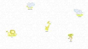 Papel de Parede Dream Word A1003-1 animais 0,93m x 17,75m