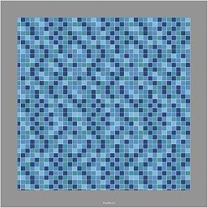 Adesivo Pastilhas Azul 3 Metros