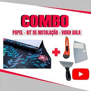 Combo Instalação 01 Papel + Kit Instalação + Video Aula