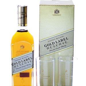 Uísque Johnnie Walker Gold Copos Personalizados