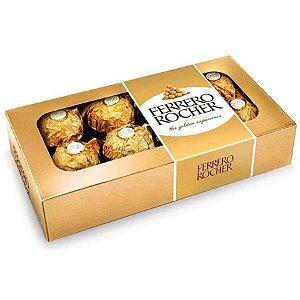 Caixa Bombom Ferrero Rocher 08 unidades