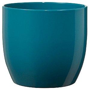 Vaso Importado Verde Petroleo-Tamanho Orquídea Pote 15