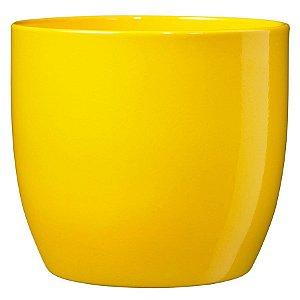 Vaso Importado Amarelo-Tamanho Orquídea Pote 15