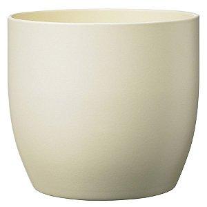 Vaso Importado Creme-Tamanho Orquídea Pote 15