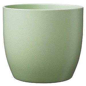 Vaso Importado Verde Mate-Tamanho Orquídea Pote 15