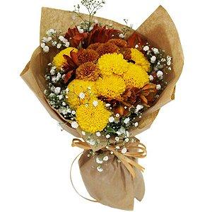 Buquê de Flores Saudade de Ti