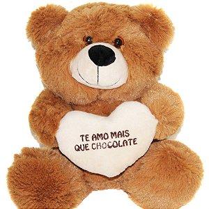 Urso Baby com Coração