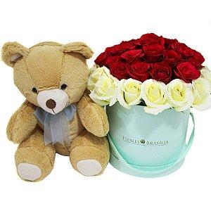 Caixa de Rosas Sonho de Amor