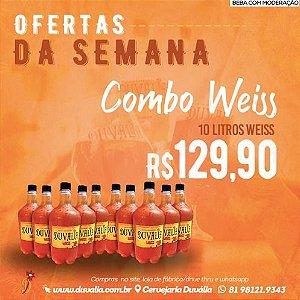 COMBO WEISS 10 L GROWLER PET