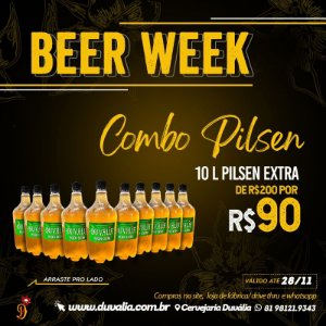 SUPER COMBO PILSEN BLACK FRIDAY - 10 LITROS