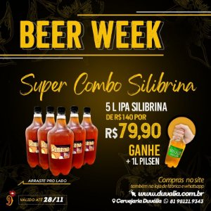 SUPER COMBO SILIBRINA - BLACK FRIDAY (5L IPA + 1L PILSEN)