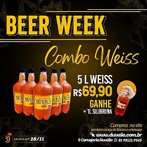 COMBO WEISS  (5L WEISS + 1L IPA SILIBRINA)