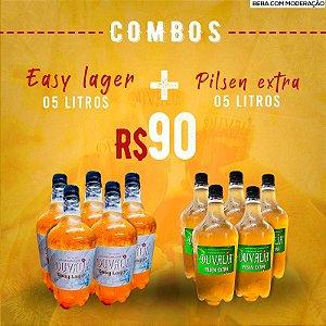 COMBO 5L PILSEN EXTRA + 5L EASY LAGER