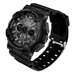 Relógio Militar Sanda S-Shock BAP6033 Original A Prova D'água